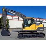 2013 Volvo EC140DL Hydraulic Crawler Excavator