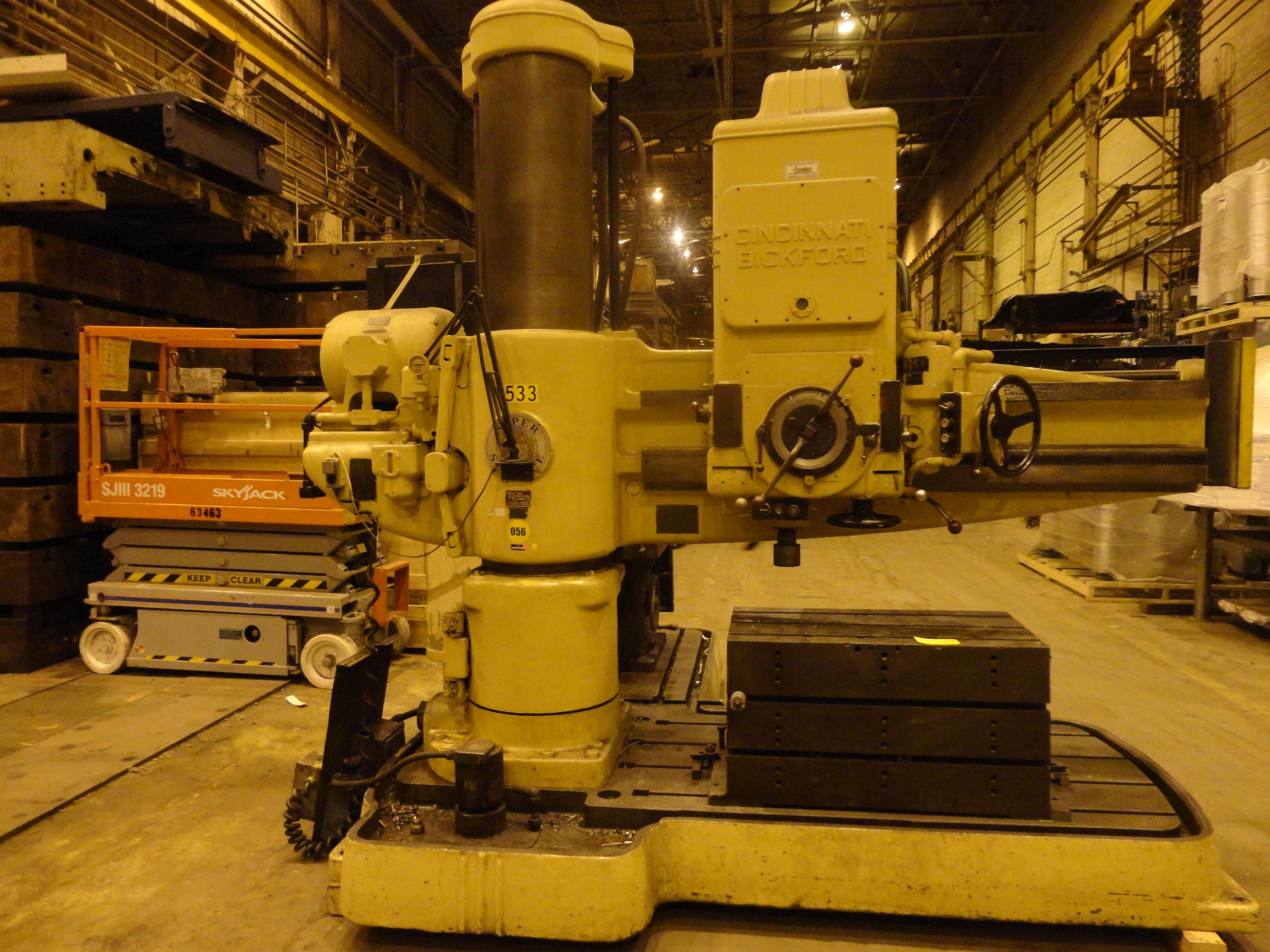 Cincinnati Brickford Radial Drill - Image 3 of 5