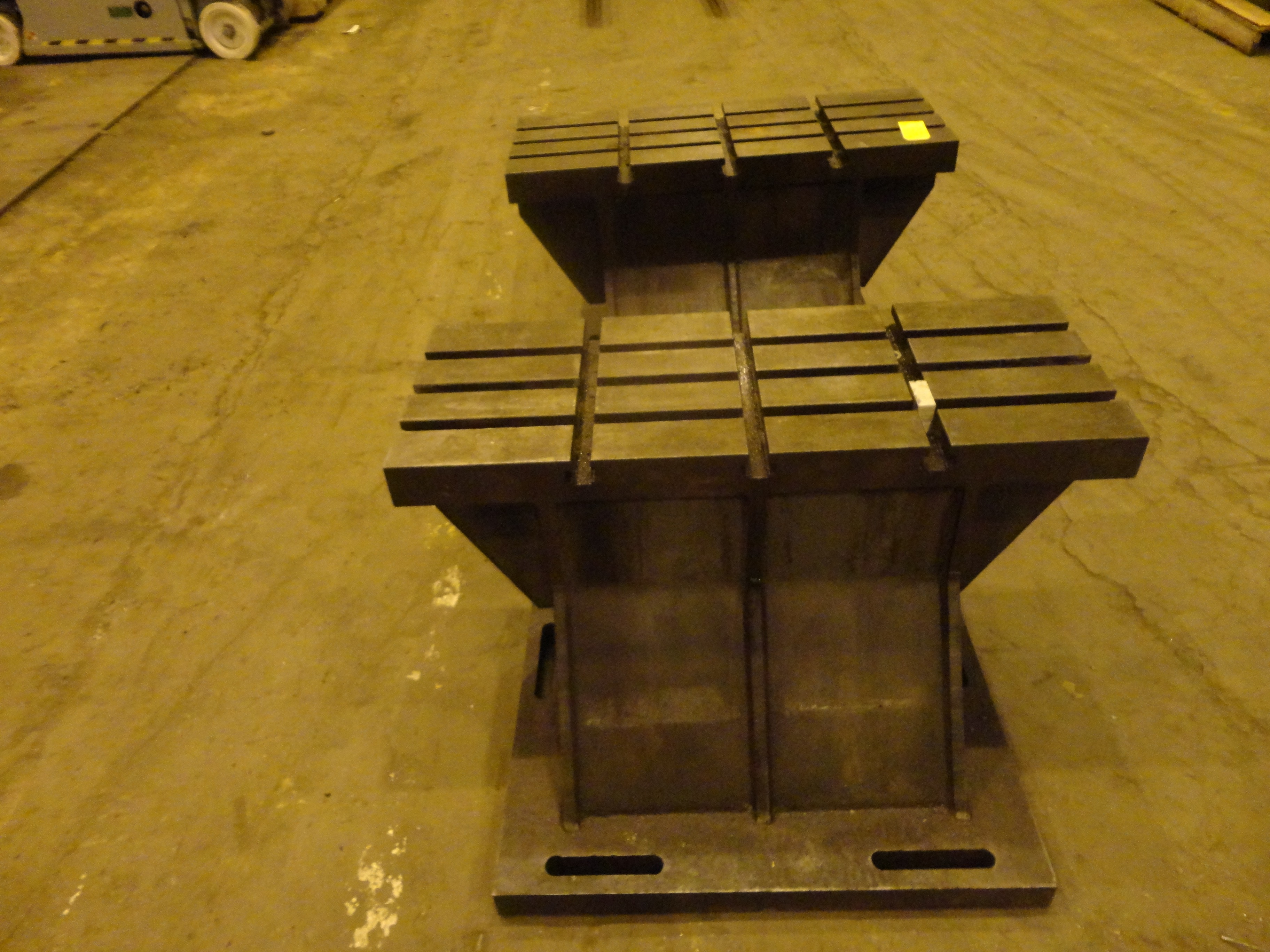 """Set of 2 T-Slotted Riser Blocks Knee Hold Down Plates 42""""L x 16"""" W x 25""""H - Image 8 of 13"""