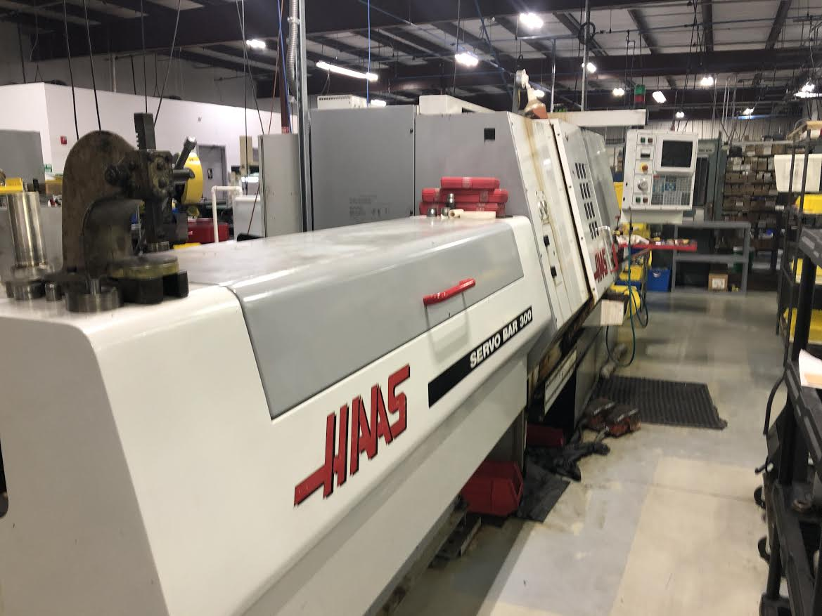 Haas HL4 CNC Lathe With Bar Feeder - Image 2 of 4