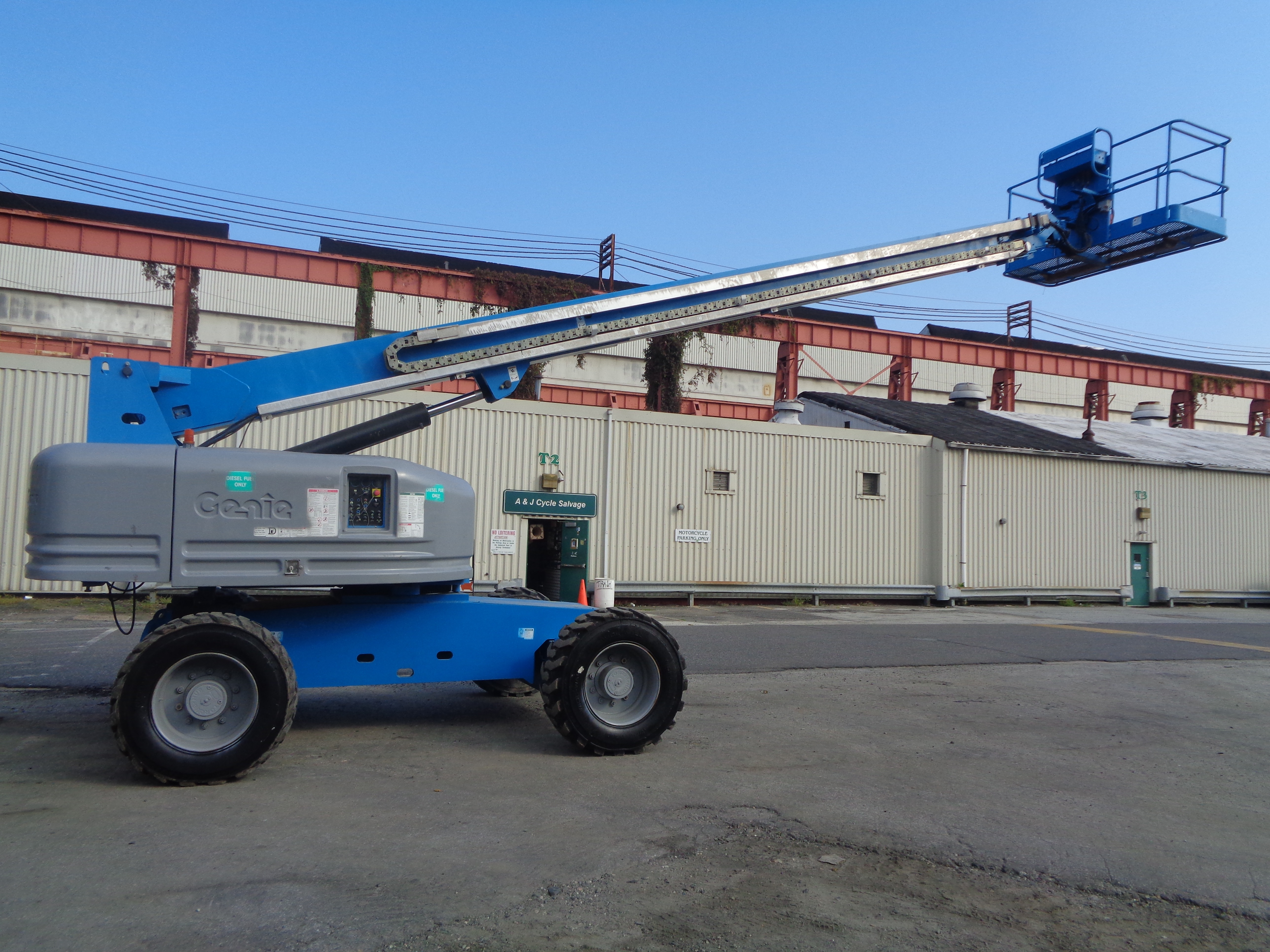 Genie S80 80ft Boom Lift - Image 14 of 22