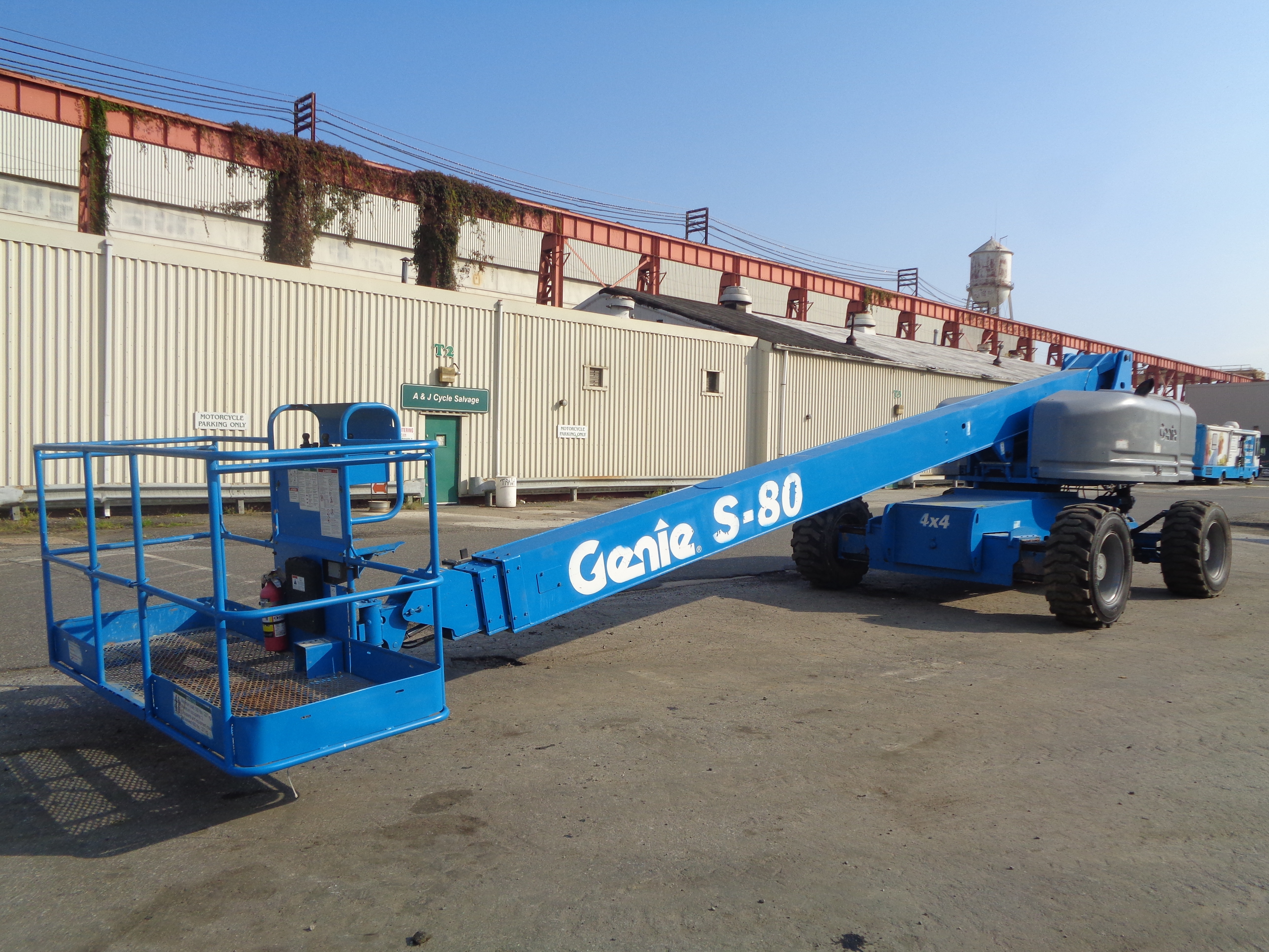 Genie S80 80ft Boom Lift - Image 4 of 22