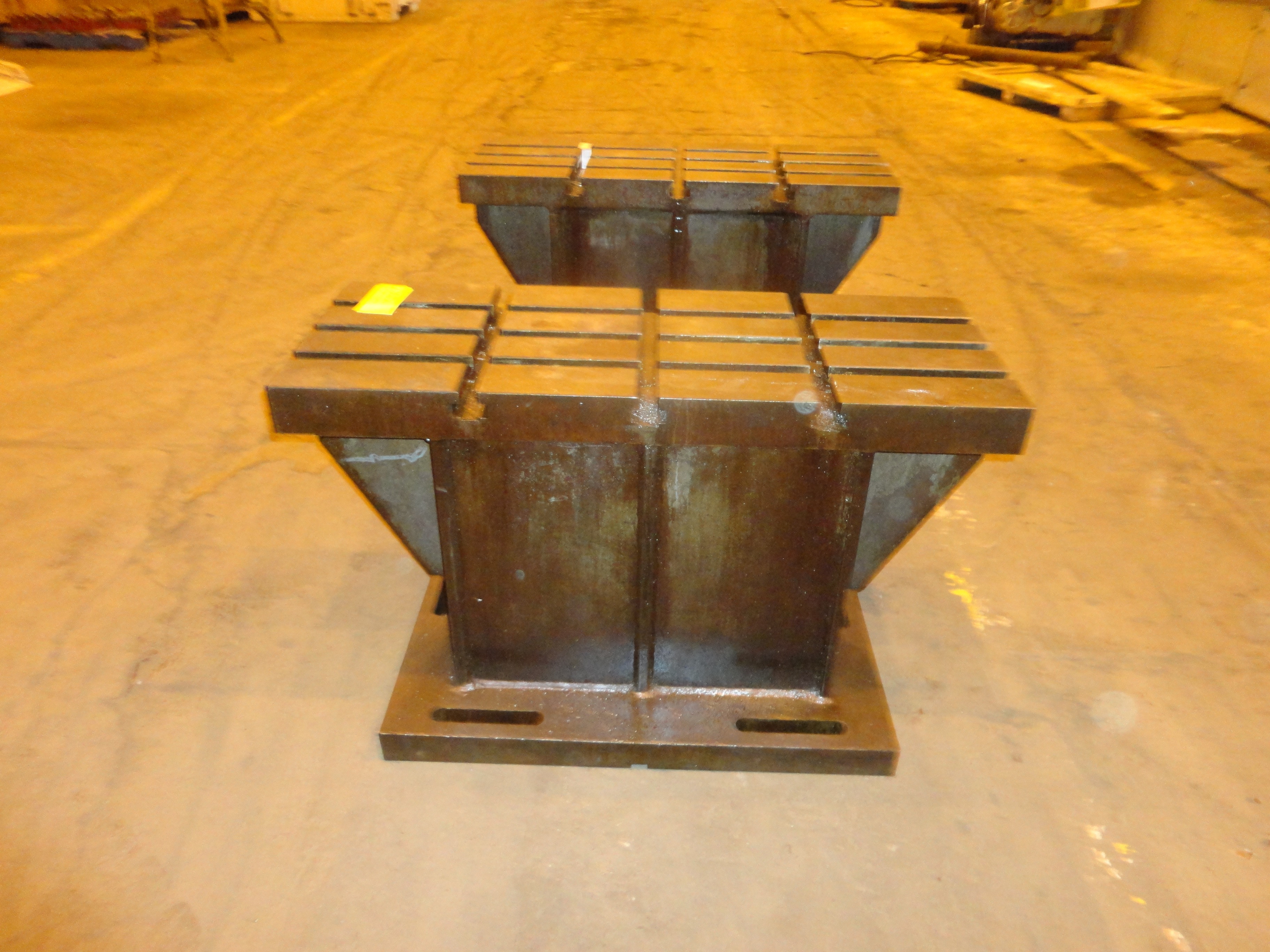 """Set of 2 T-Slotted Riser Blocks Knee Hold Down Plates 42""""L x 16"""" W x 25""""H - Image 13 of 13"""