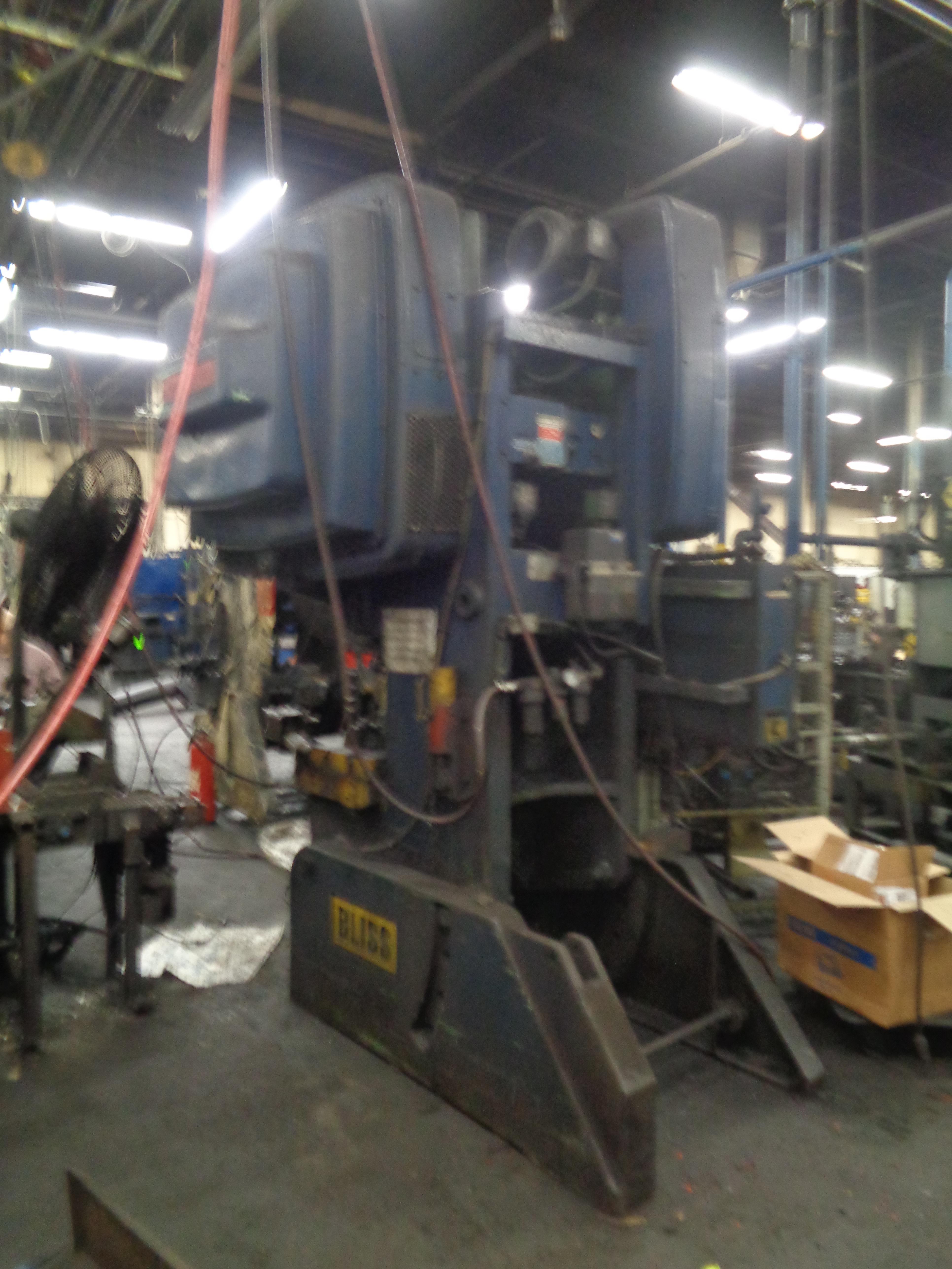 Bliss Press 60 Ton - Located in Swedsboro NJ - Image 3 of 4