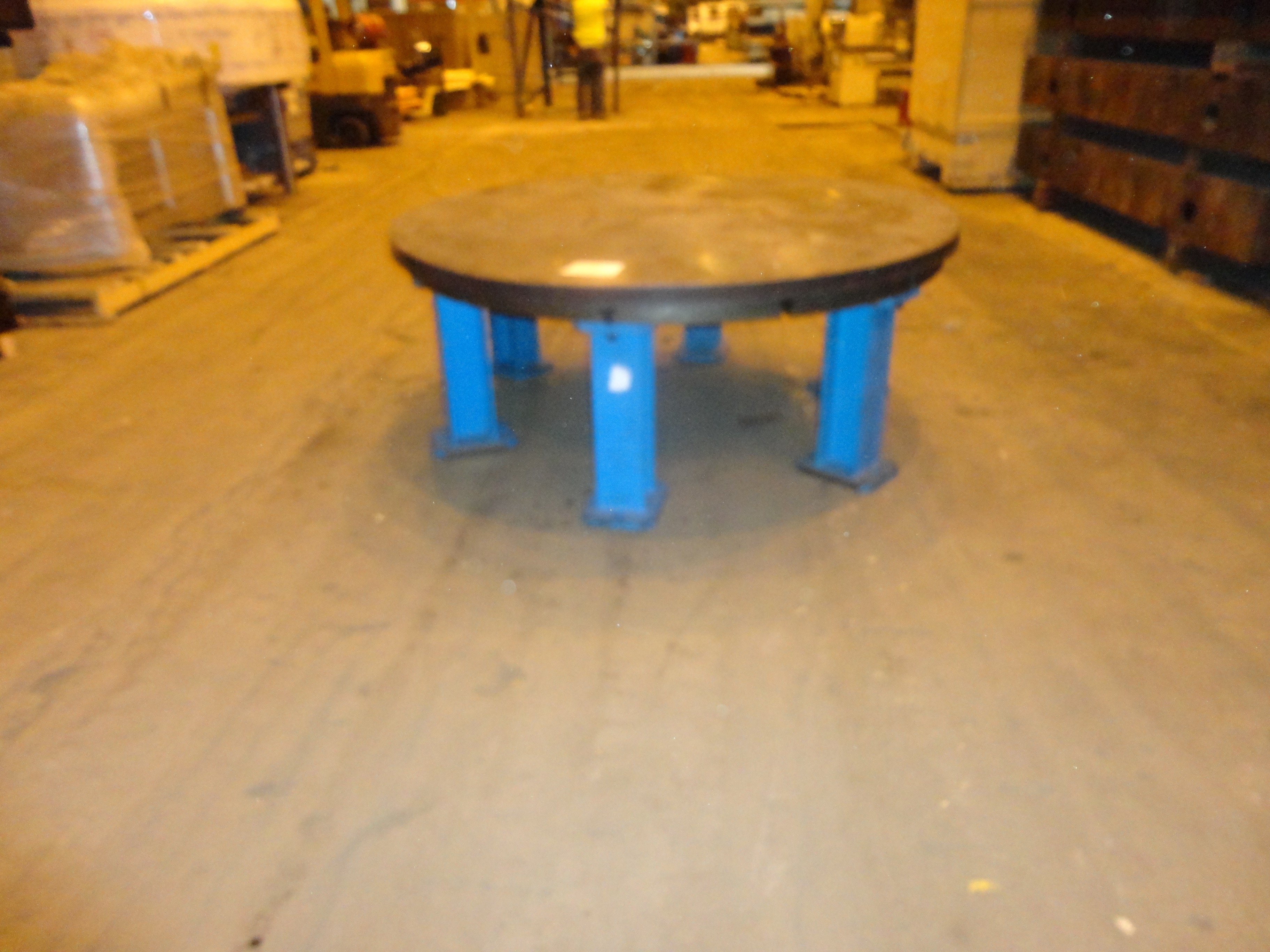 "65"" Faceplate Work Table"