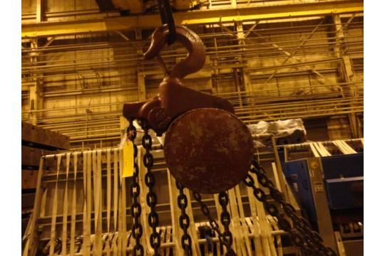 12 Ton Yale Chain Hoist (#15) - Image 9 of 10