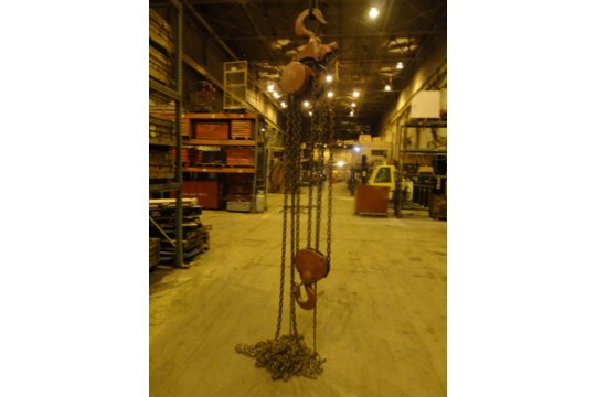 12 Ton Yale Chain Hoist (#15) - Image 6 of 10