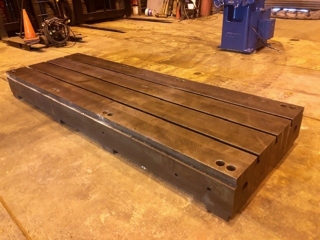 T Slotted Floor Plate