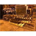 Huge Lot of Drill Augers Bits Digger Derrick