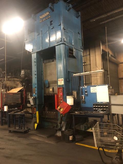 Niagara 600 Ton Press - Located Off Site in NJ - Image 4 of 16