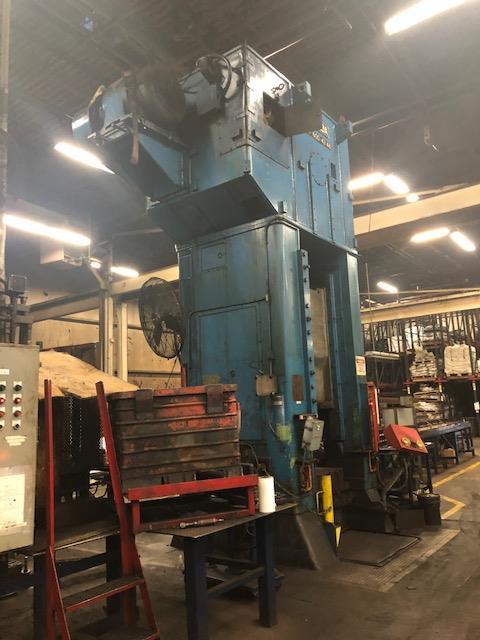 Niagara 600 Ton Press - Located Off Site in NJ