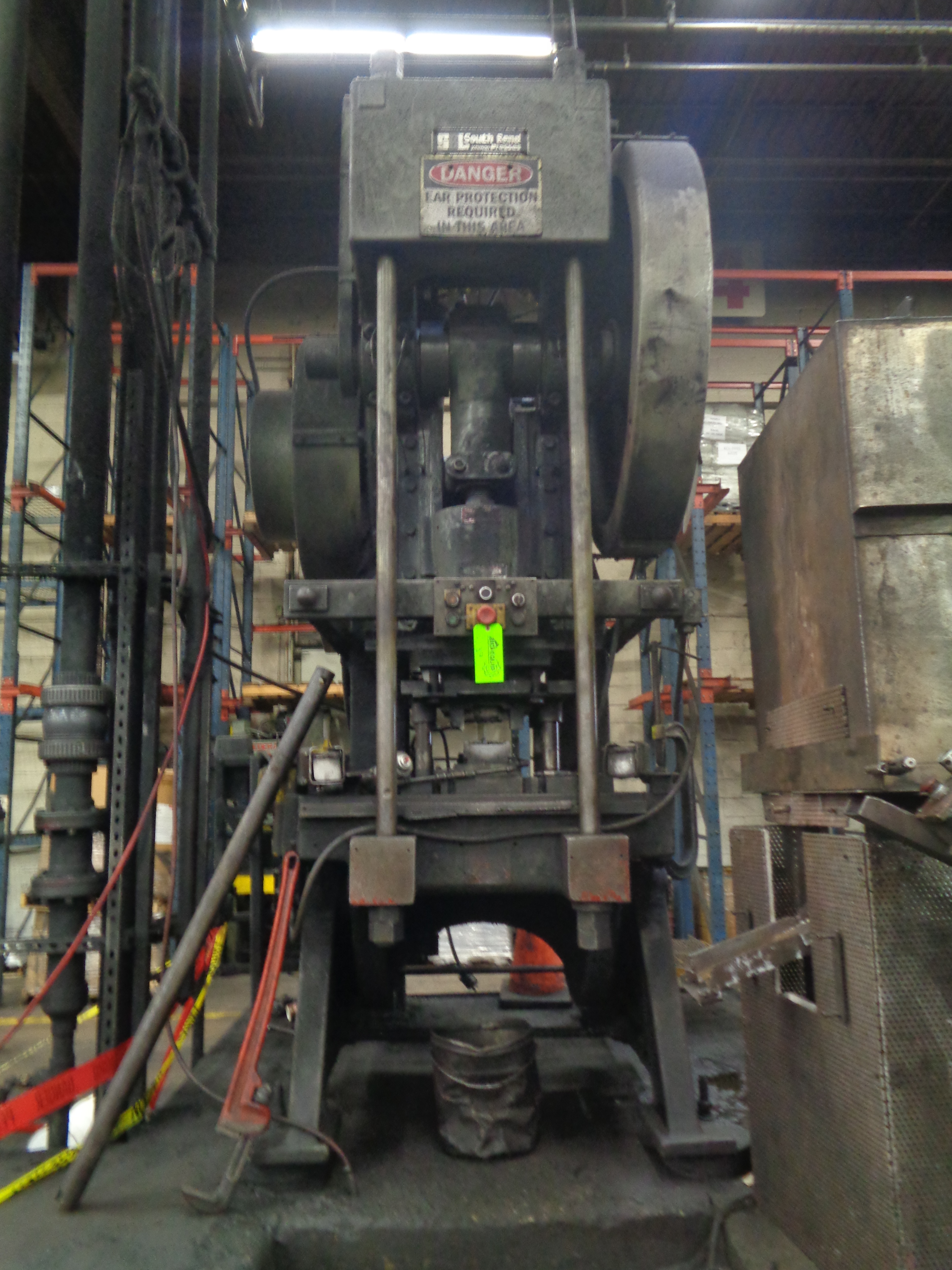 South Bend Press 125 Ton Located in Swedsboro NJ