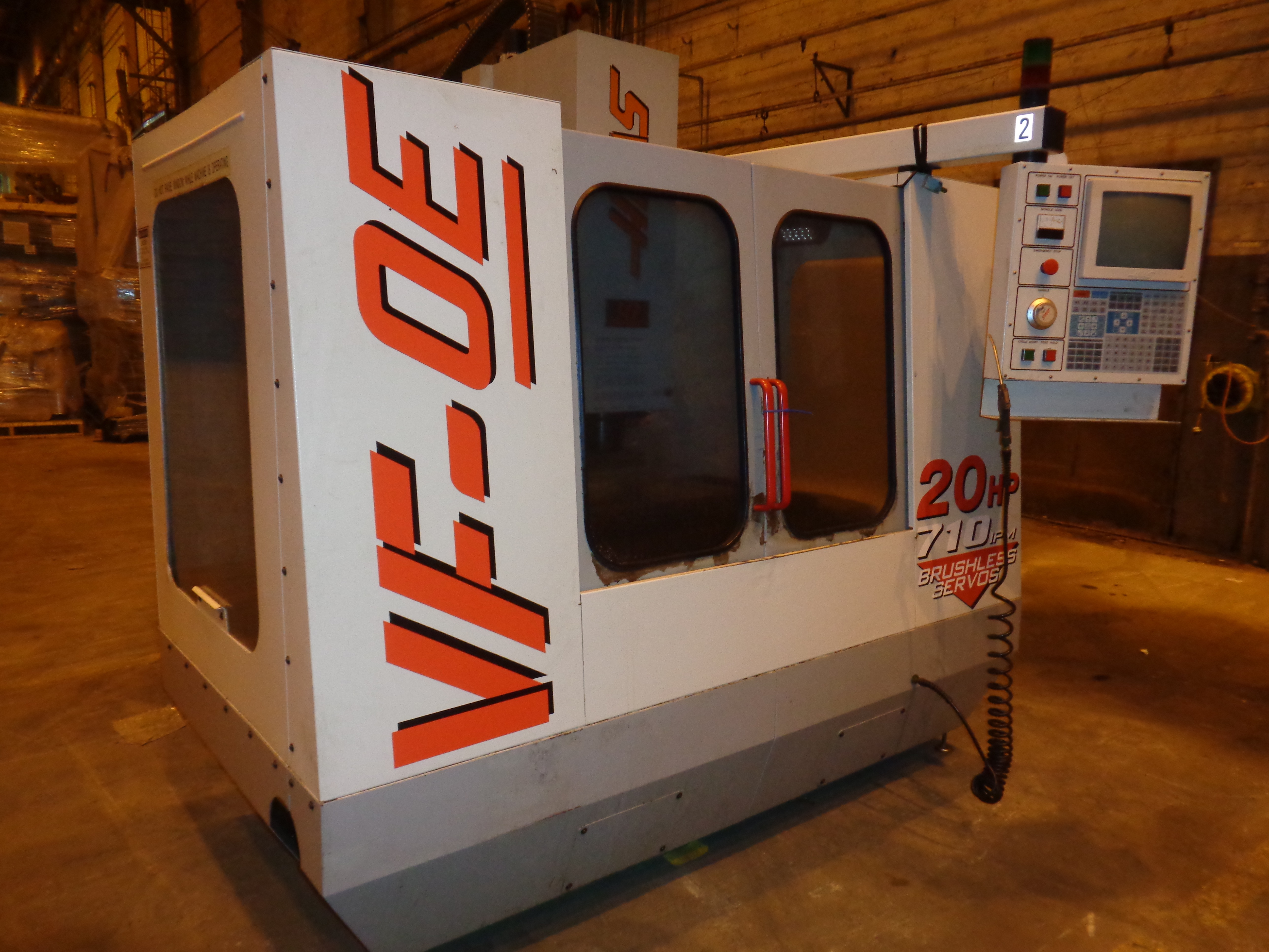 Haas VF-0E CNC Vertical Machining Center - Image 4 of 27