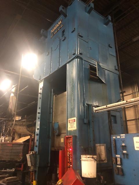 Niagara 600 Ton Press - Located Off Site in NJ - Image 3 of 16