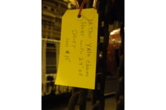 12 Ton Yale Chain Hoist (#15) - Image 10 of 10