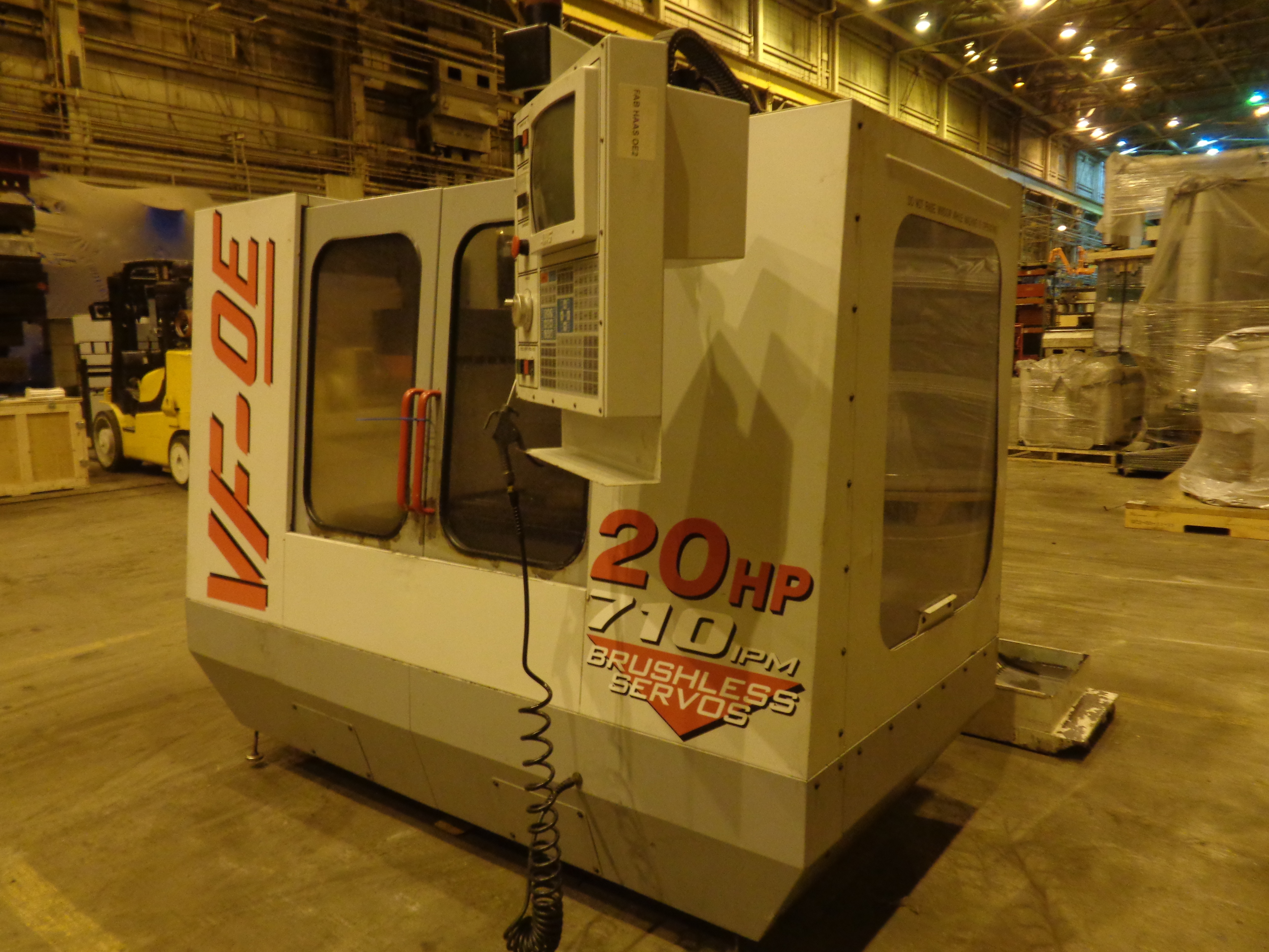 Haas VF-0E CNC Vertical Machining Center - Image 13 of 27