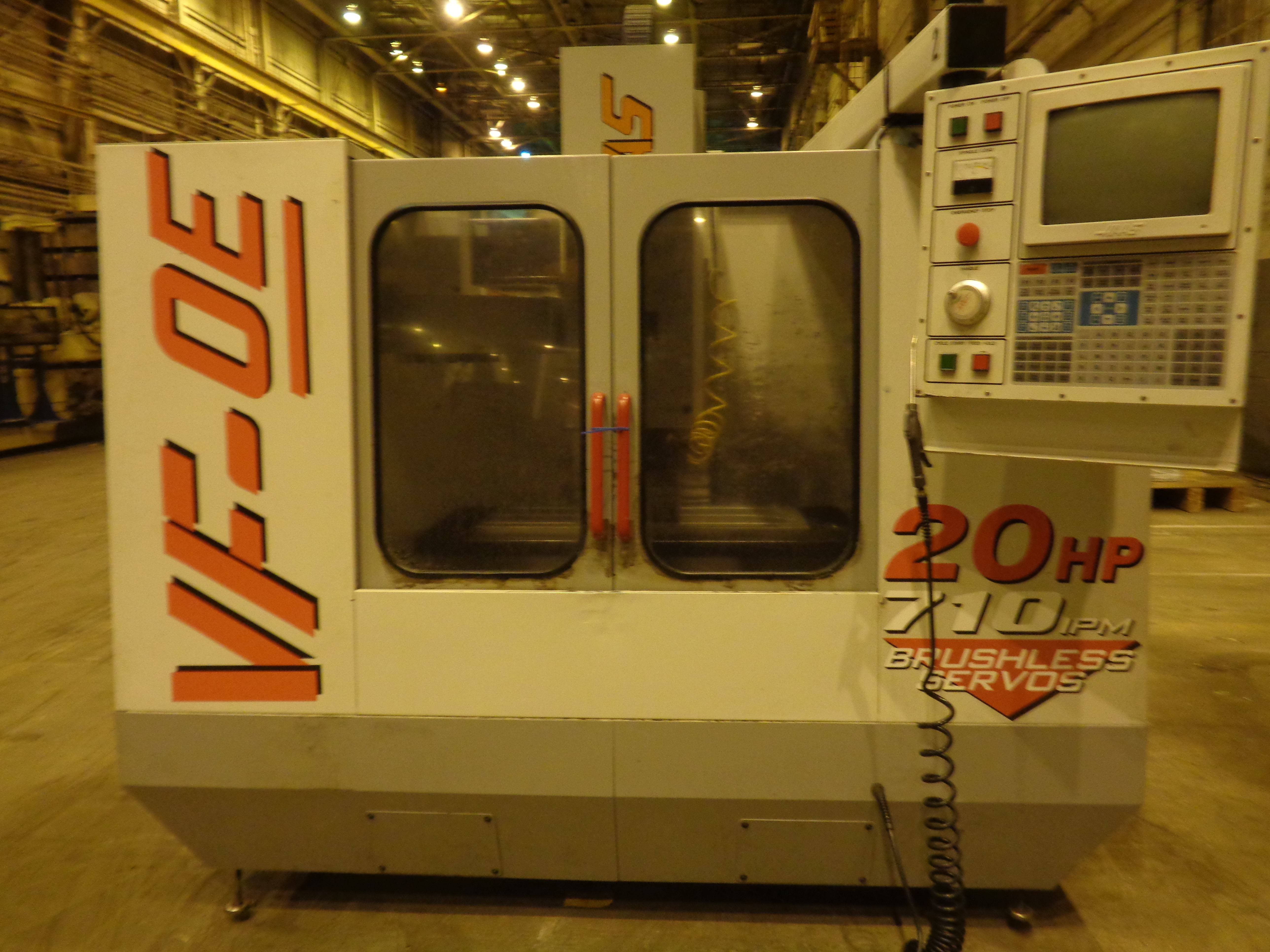 Haas VF-0E CNC Vertical Machining Center - Image 9 of 27