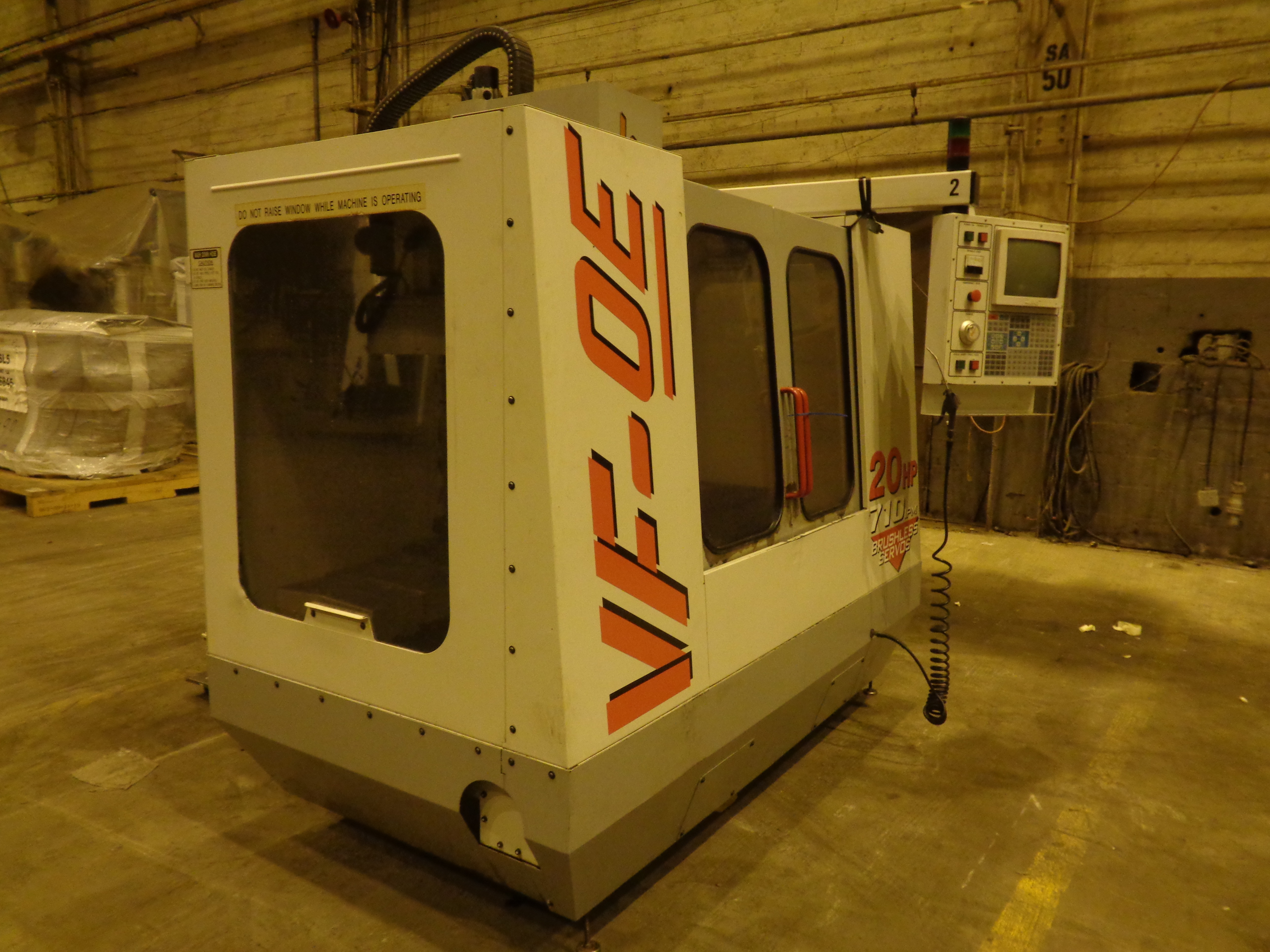 Haas VF-0E CNC Vertical Machining Center - Image 18 of 27