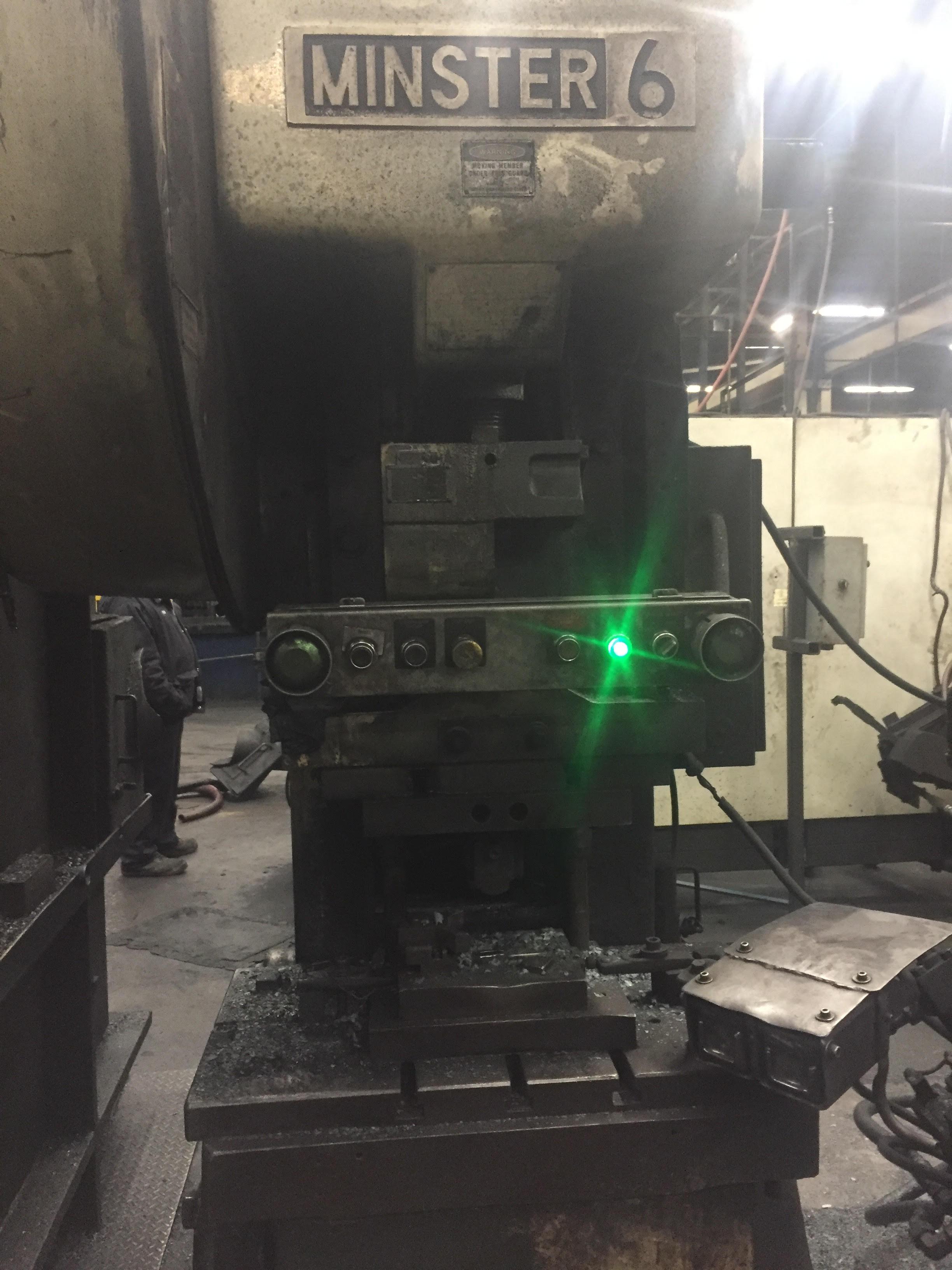 Minster Press 60 Ton Located in Swedsboro NJ - Image 3 of 3