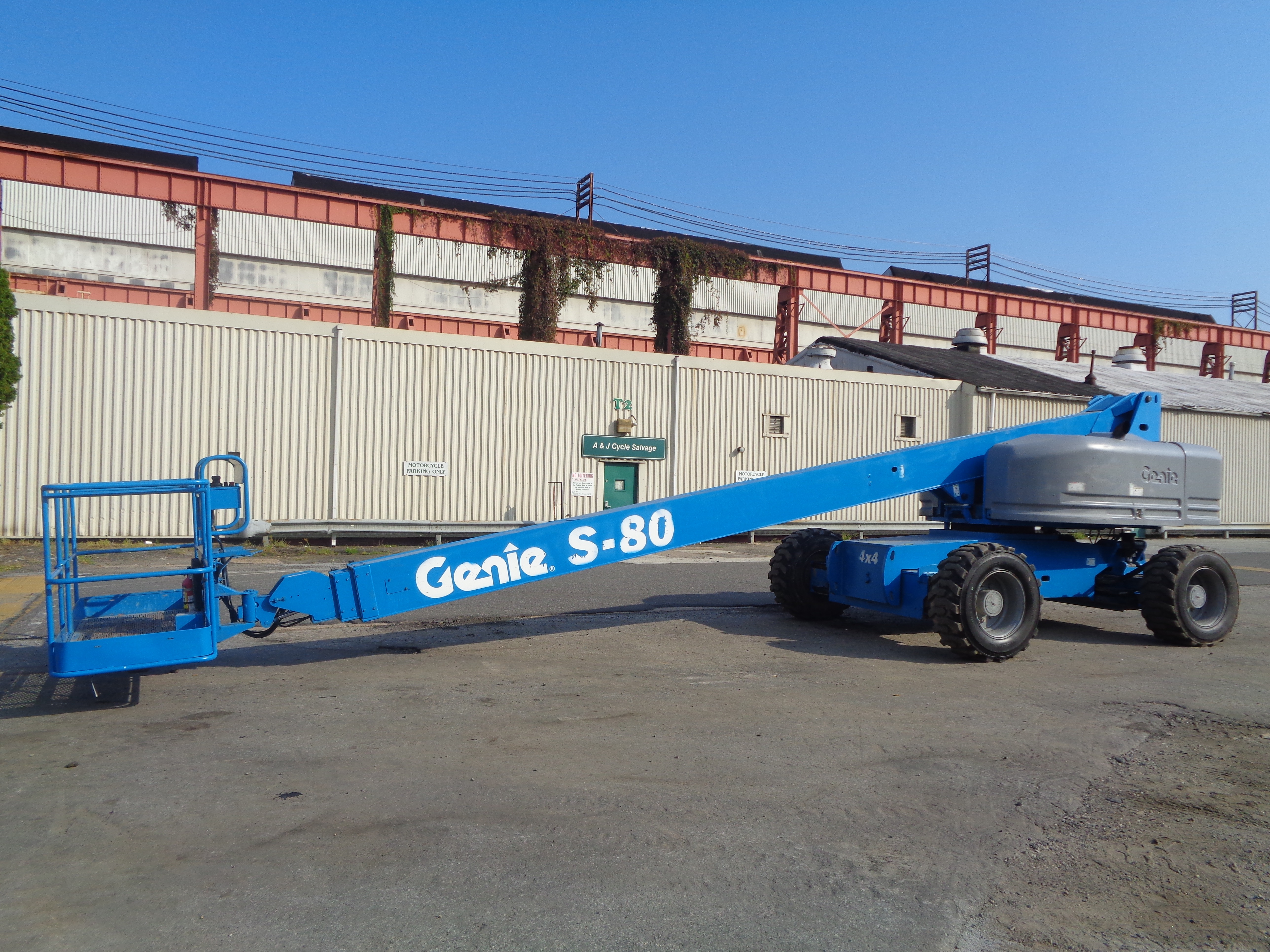 Genie S80 80ft Boom Lift - Image 3 of 22