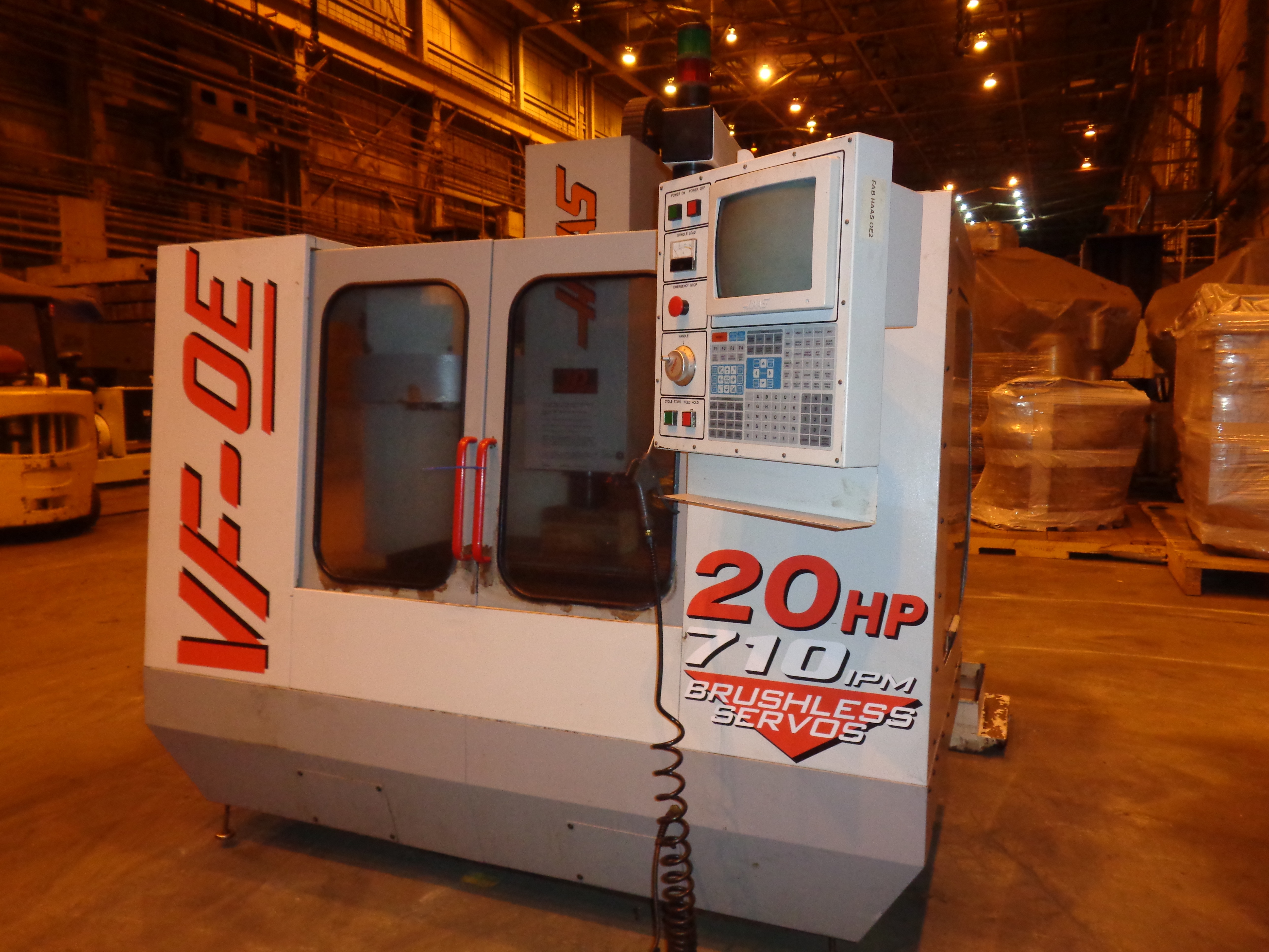 Haas VF-0E CNC Vertical Machining Center - Image 2 of 27