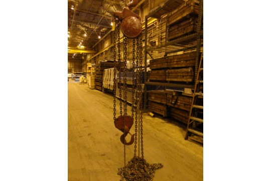 12 Ton Yale Chain Hoist (#15) - Image 4 of 10