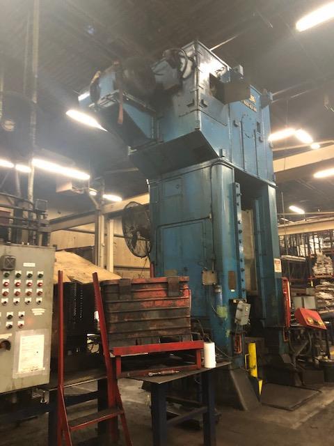 Niagara 600 Ton Press - Located Off Site in NJ - Image 2 of 16