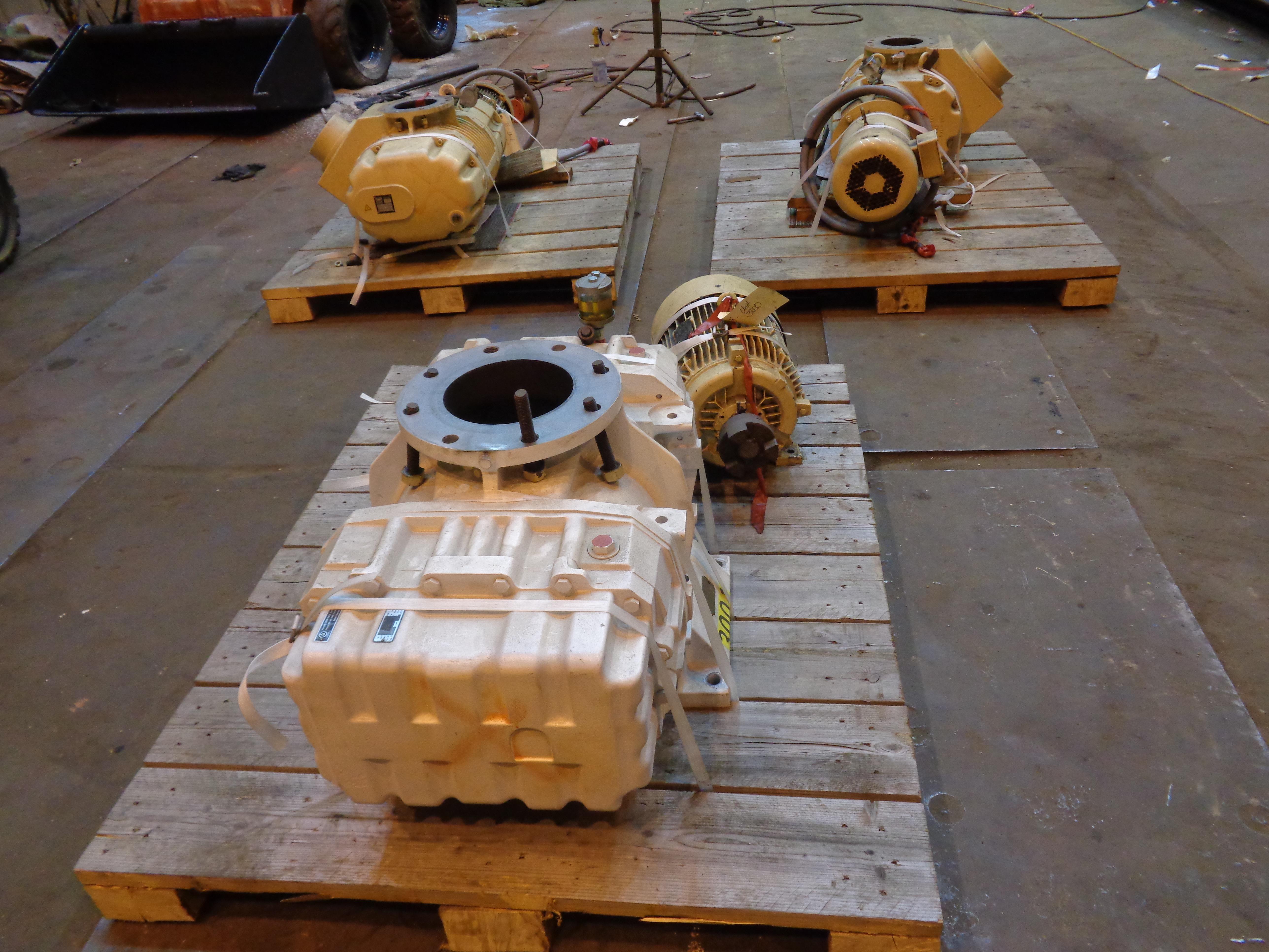Lot of 3 Vacuum Pumps