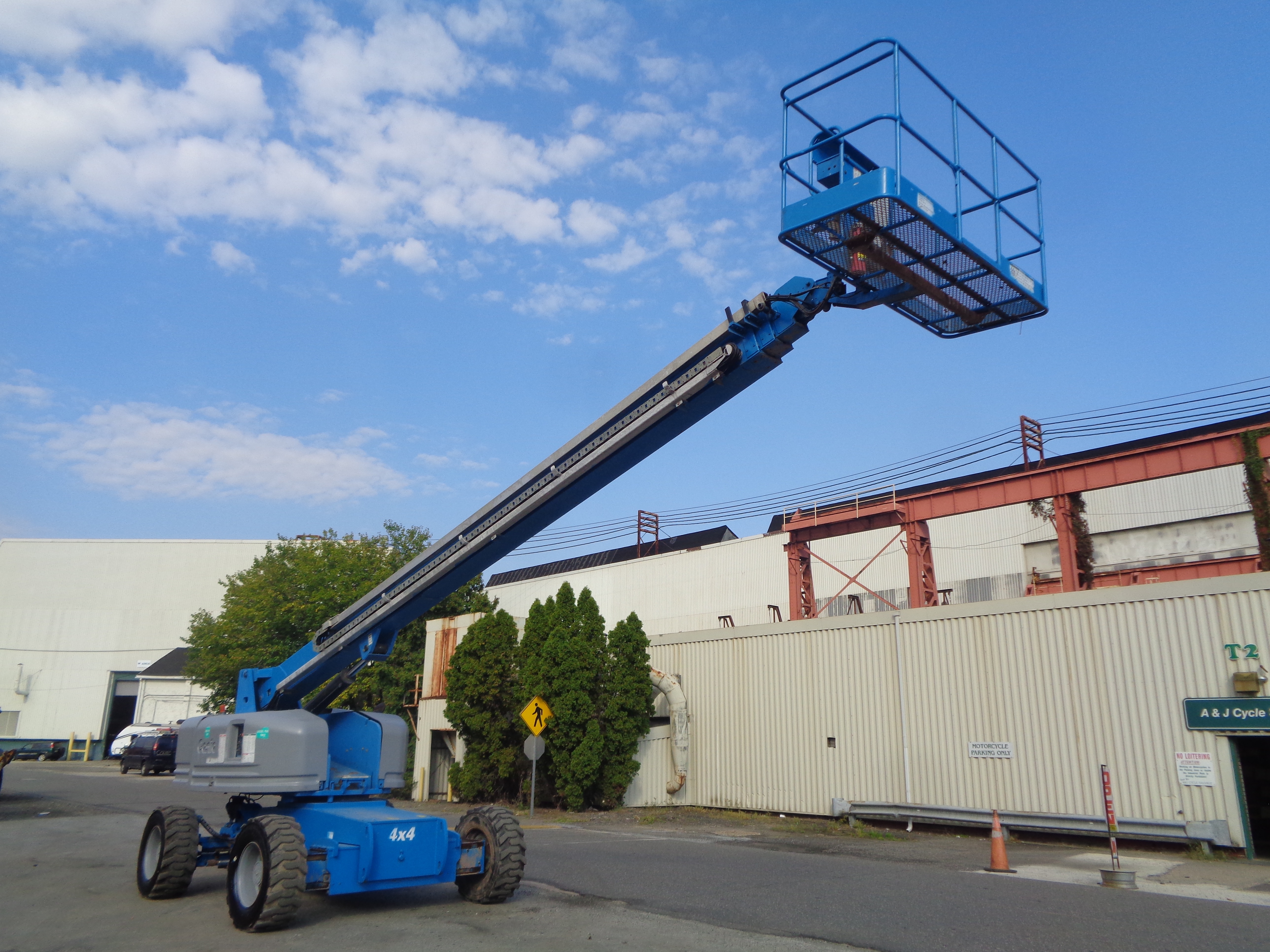 Genie S80 80ft Boom Lift - Image 17 of 22