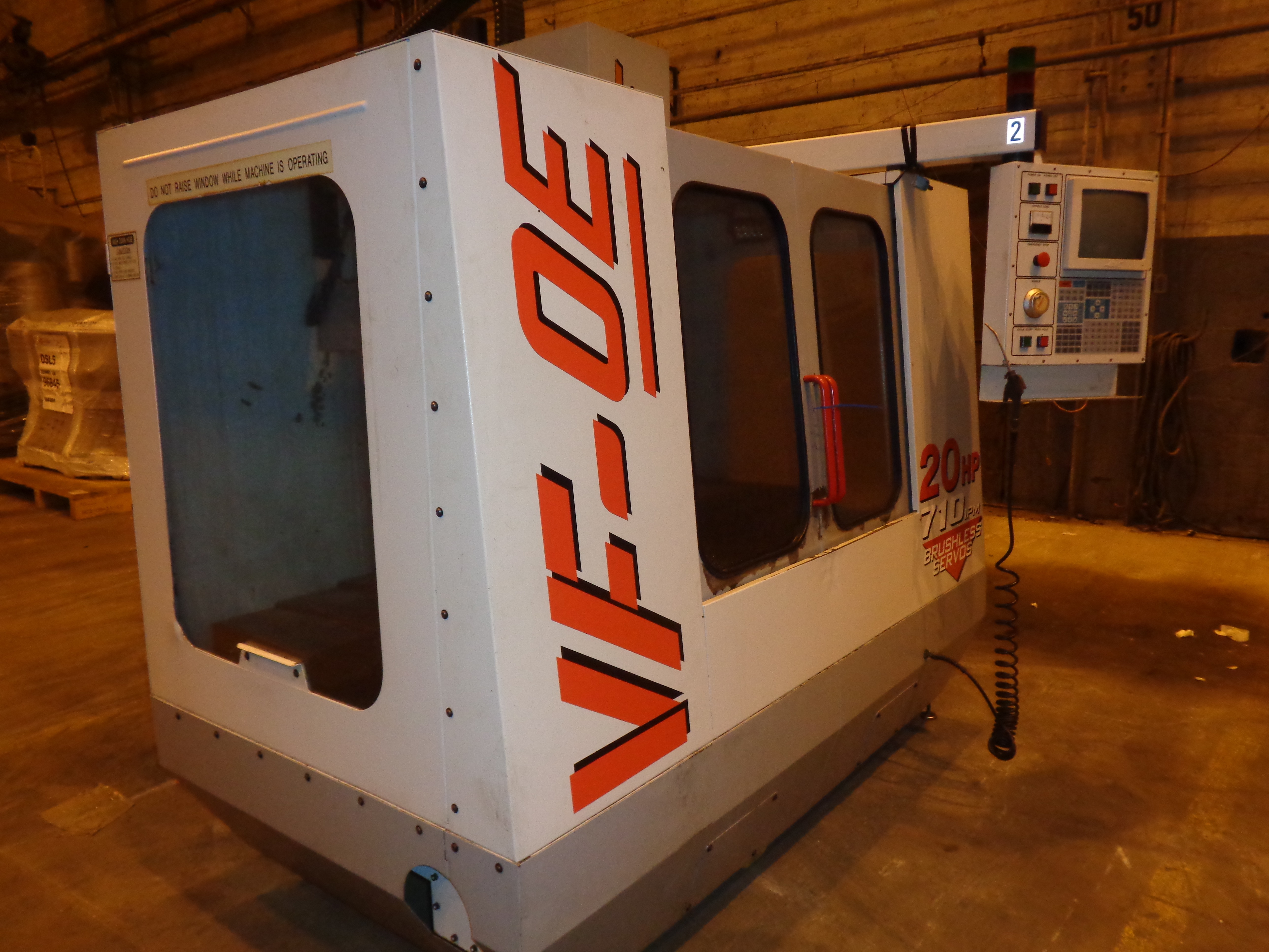Haas VF-0E CNC Vertical Machining Center - Image 5 of 27