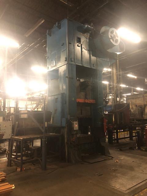Niagara 600 Ton Press - Located Off Site in NJ - Image 12 of 16