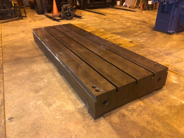 T Slotted Floor Plates