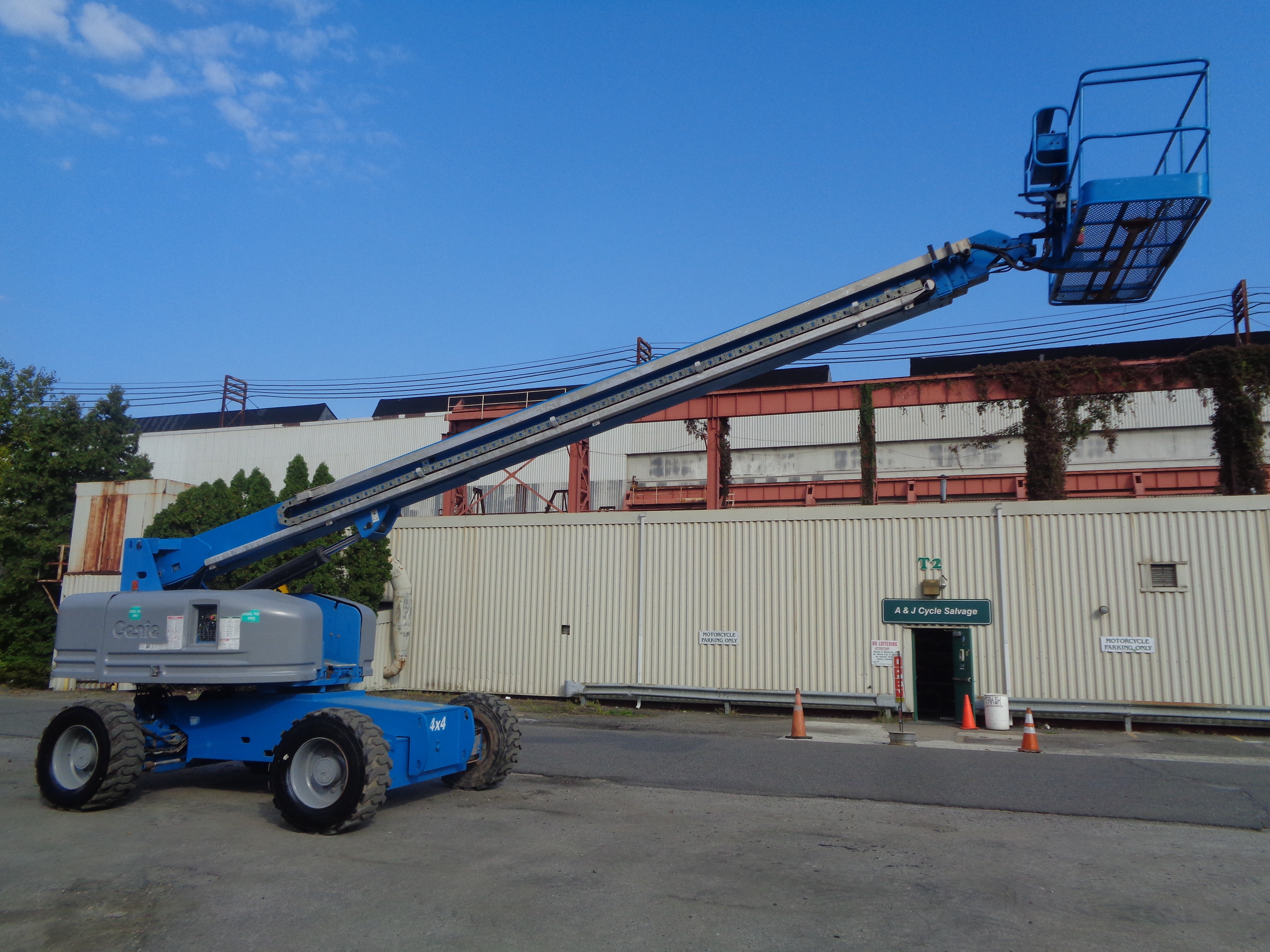 Genie S80 80ft Boom Lift - Image 16 of 22