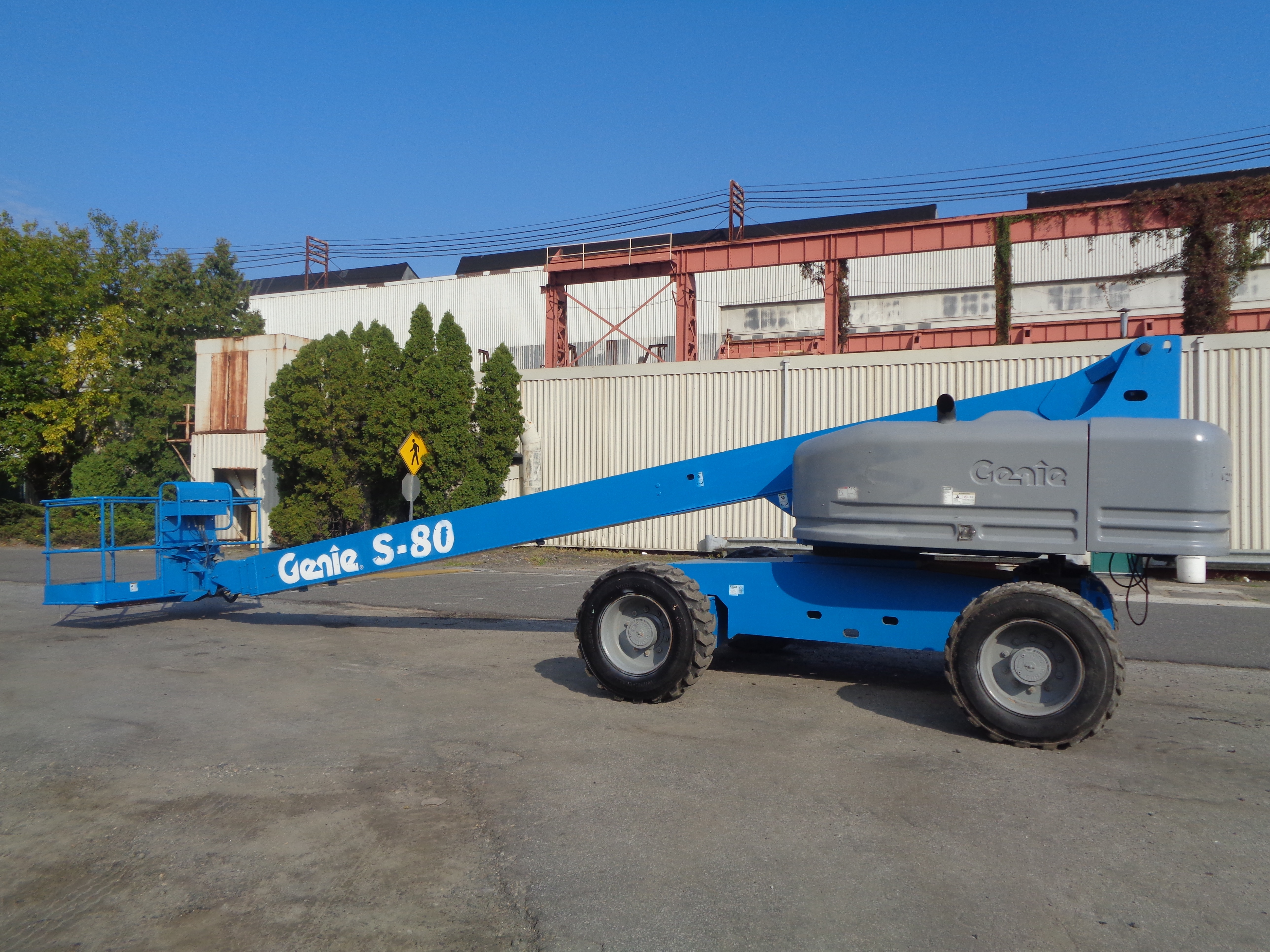Genie S80 80ft Boom Lift - Image 5 of 22