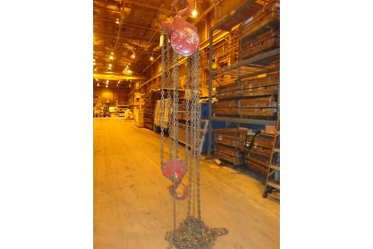 12 Ton Yale Chain Hoist (#15) - Image 3 of 10