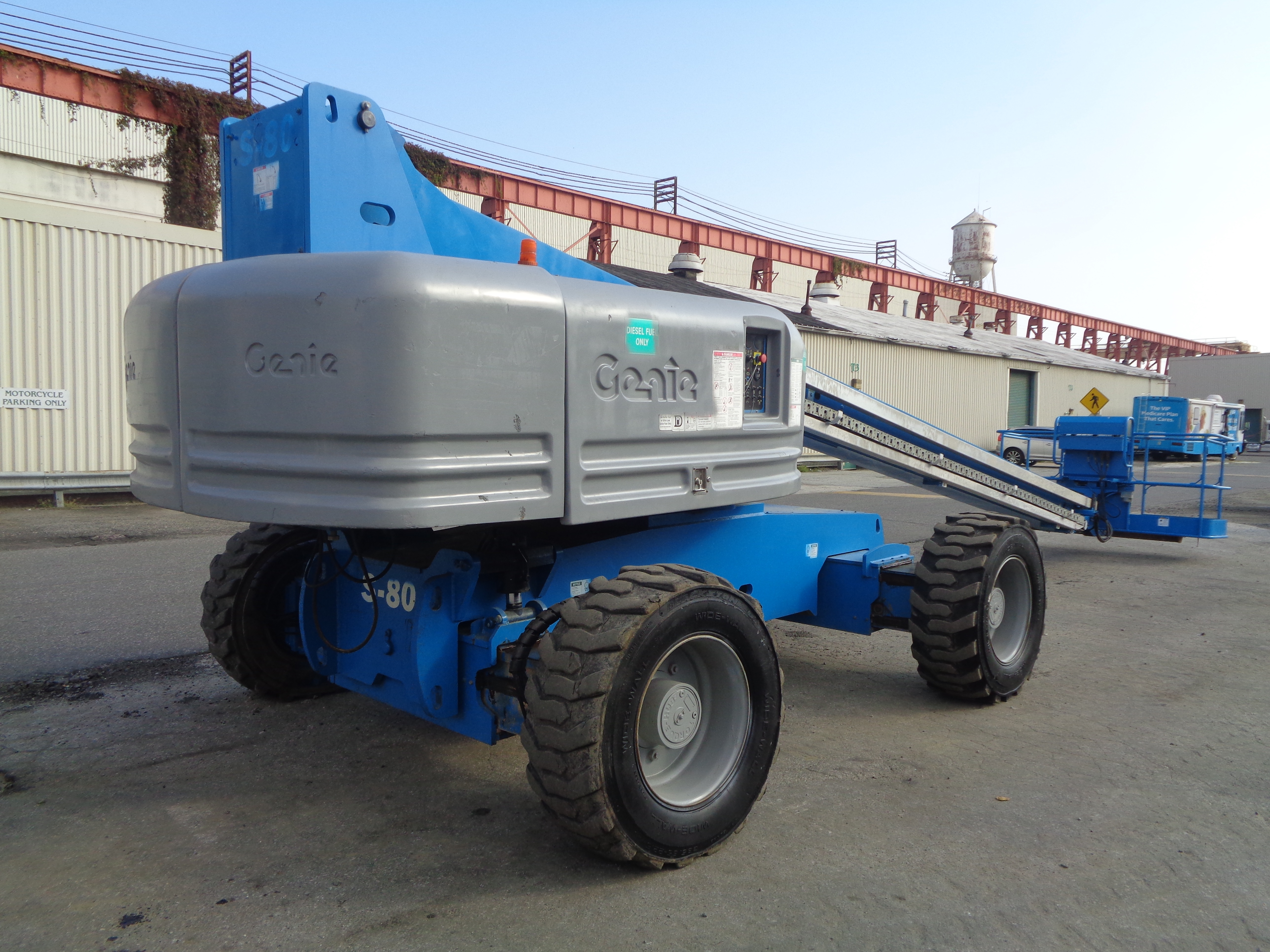 Genie S80 80ft Boom Lift - Image 7 of 22