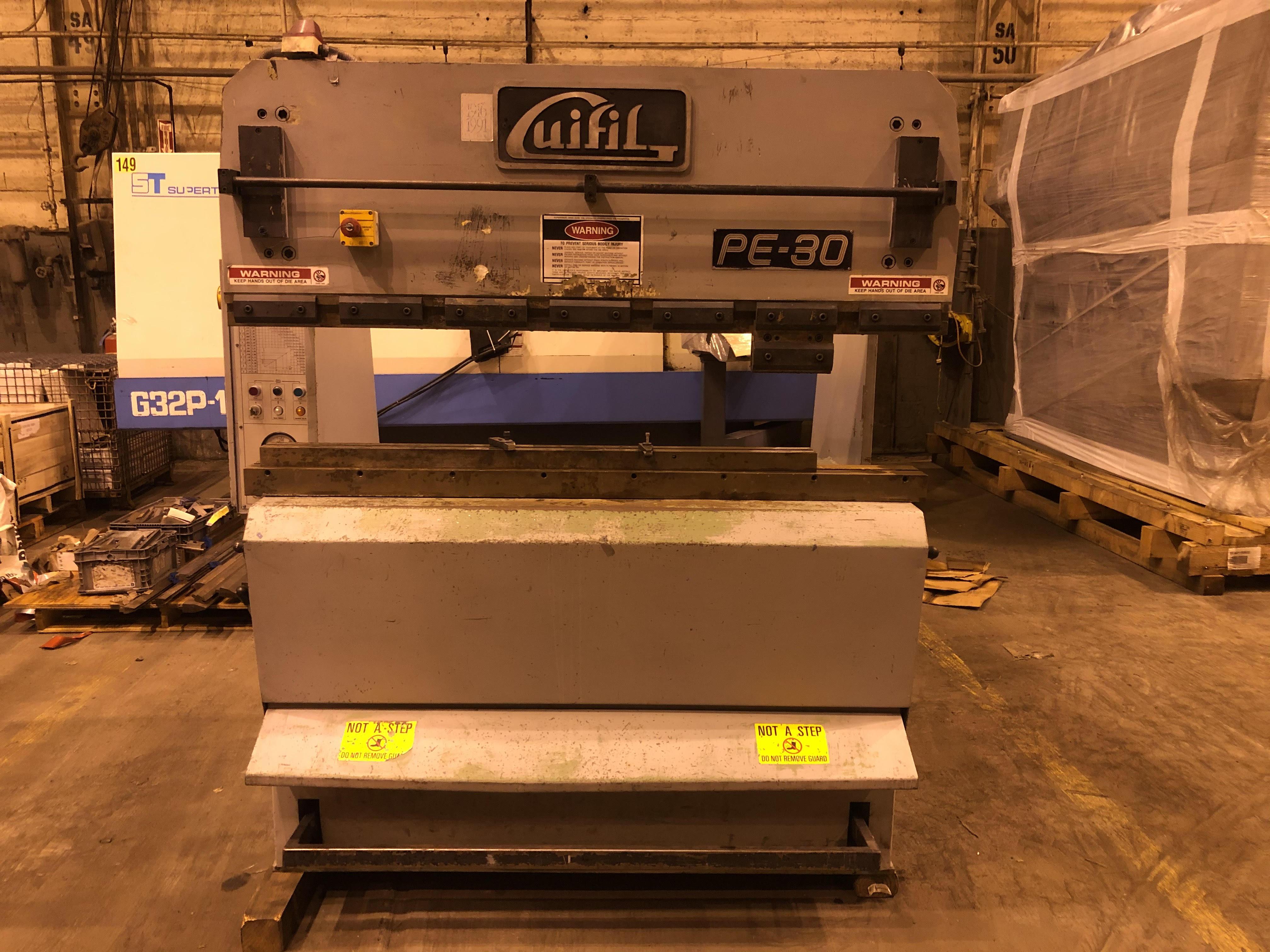 Guifil PE-30 33 Ton Press Brake - Image 5 of 14
