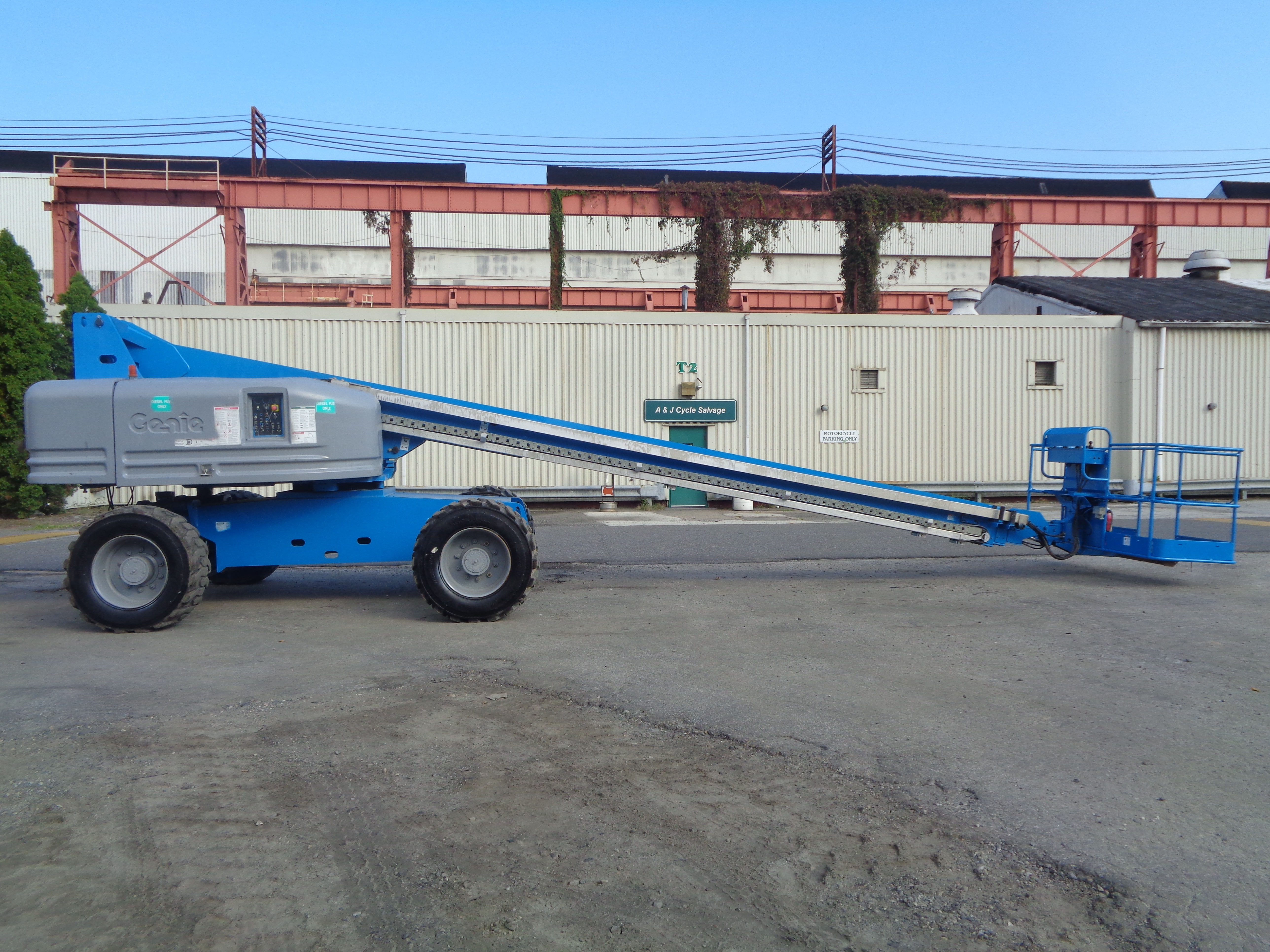Genie S80 80ft Boom Lift - Image 9 of 22