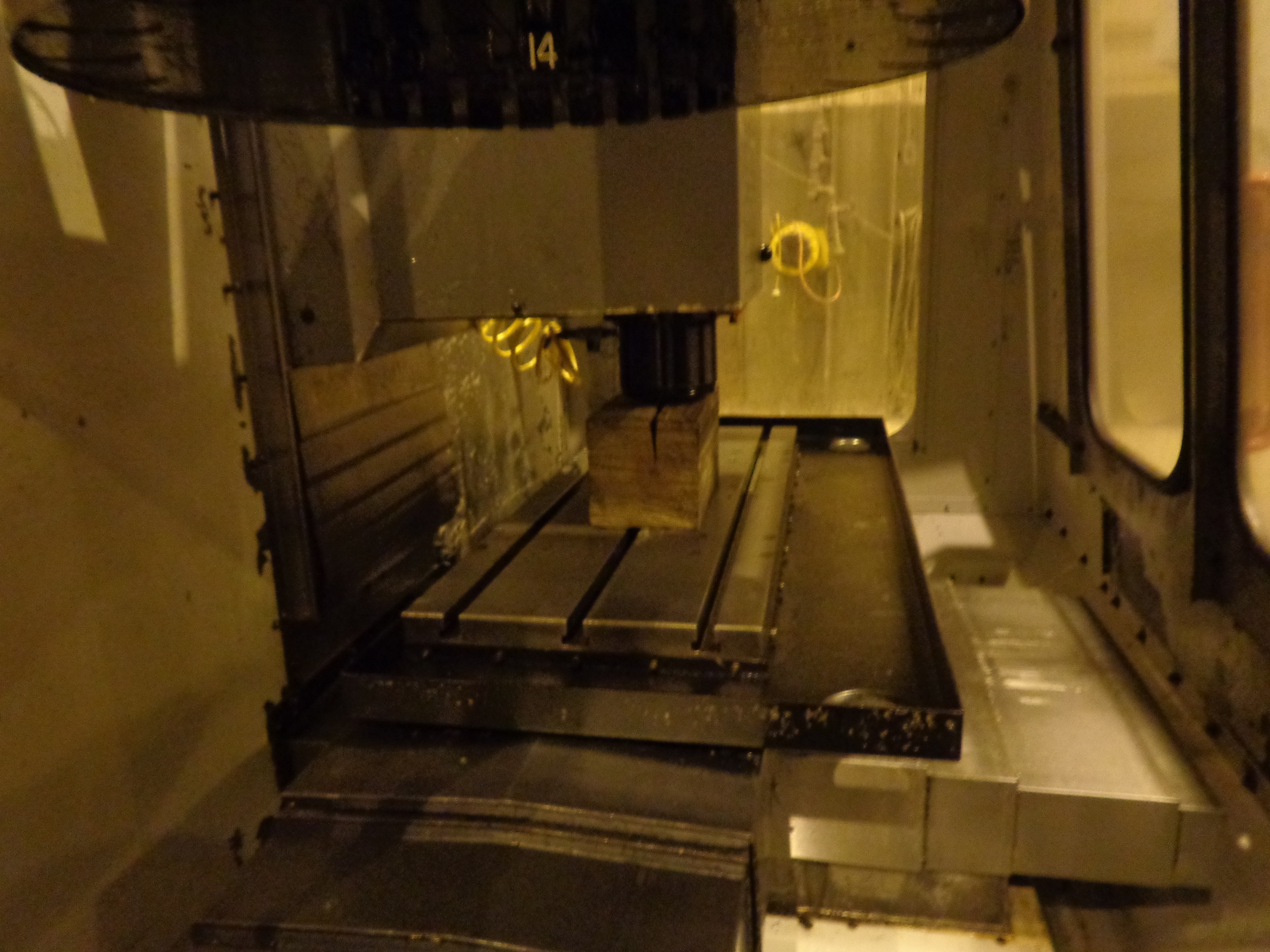 Haas VF-0E CNC Vertical Machining Center - Image 16 of 27