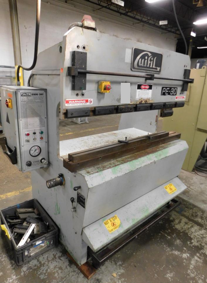 Guifil PE-30 33 Ton Press Brake - Image 2 of 14