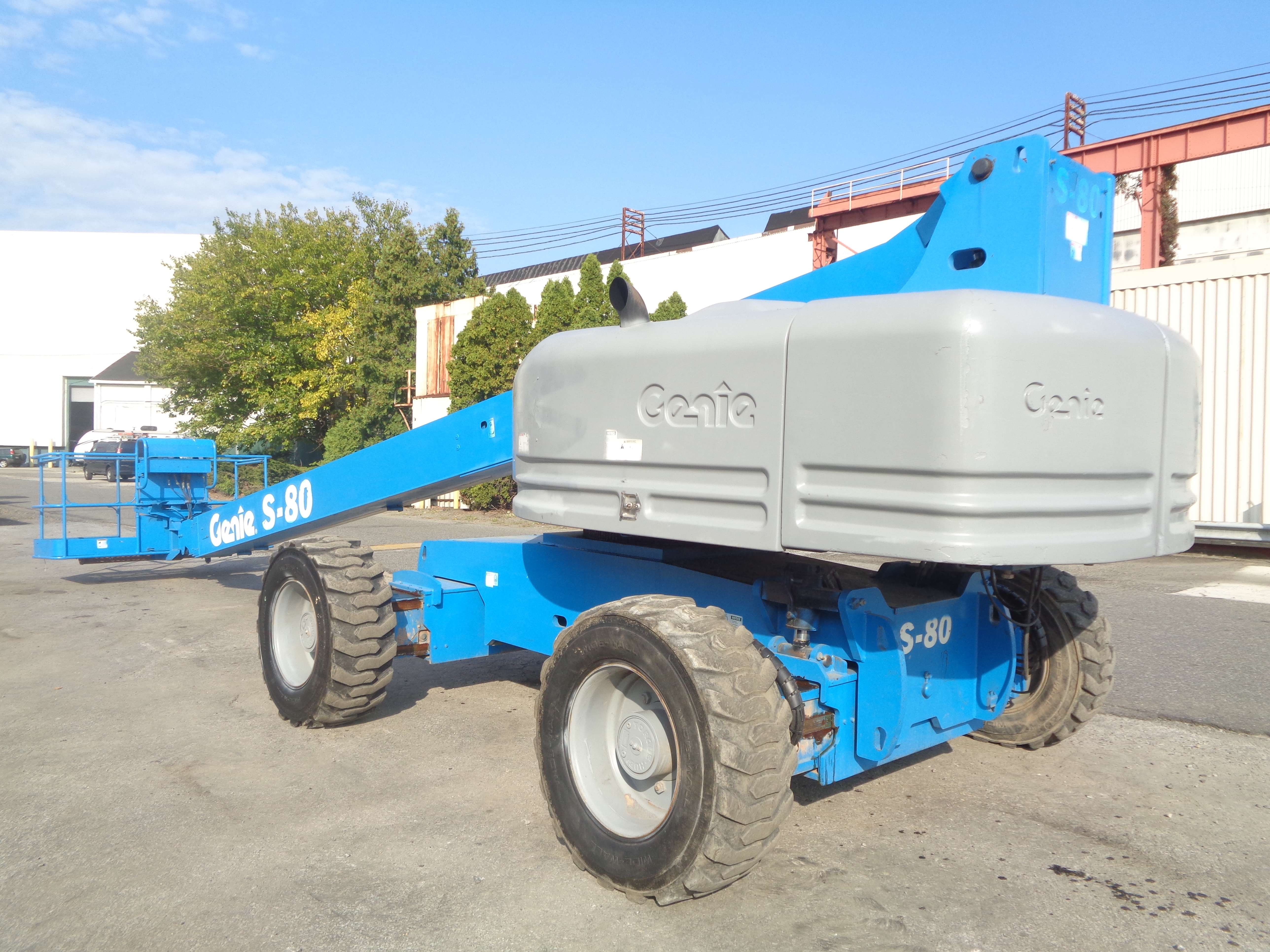 Genie S80 80ft Boom Lift - Image 6 of 22