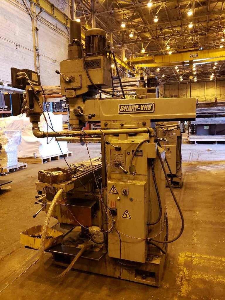 1999 Sharp VH3 Vertical Horizontal Mill - Image 4 of 6