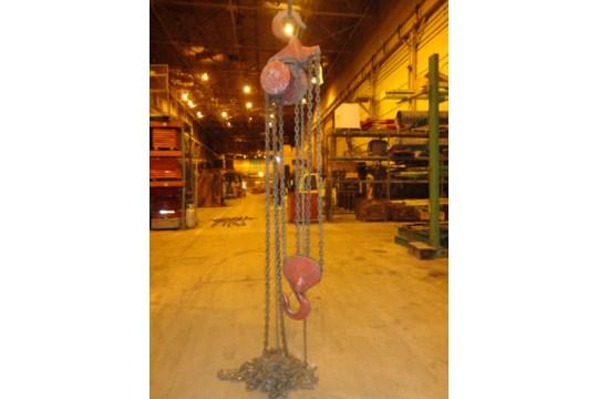 12 Ton Yale Chain Hoist (#15) - Image 2 of 10