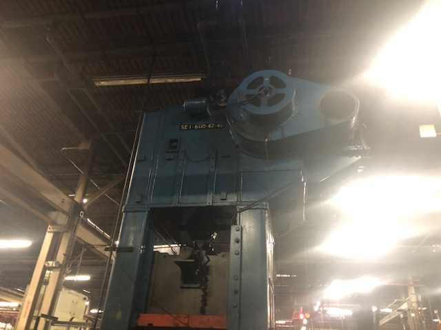 Niagara 600 Ton Press - Located Off Site in NJ - Image 8 of 16