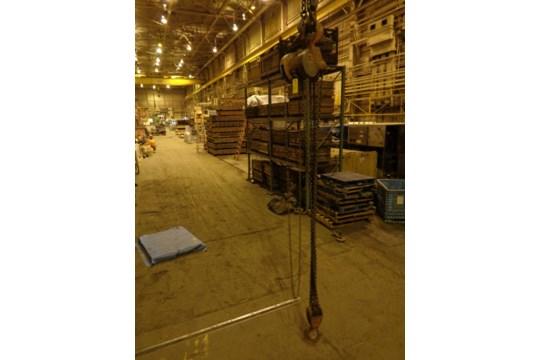 10 Ton CM Chain Hoist (#451) - Image 8 of 13