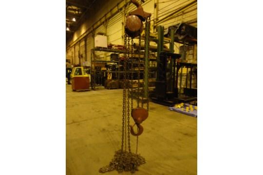 12 Ton Yale Chain Hoist (#15) - Image 8 of 10