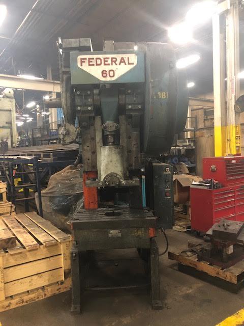 Federal Press 60 Ton - Located in Swedsboro NJ - Image 3 of 7