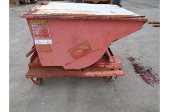 Meco 1/2 Yard Trash Dumpster