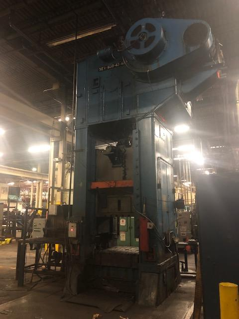 Niagara 600 Ton Press - Located Off Site in NJ - Image 9 of 16