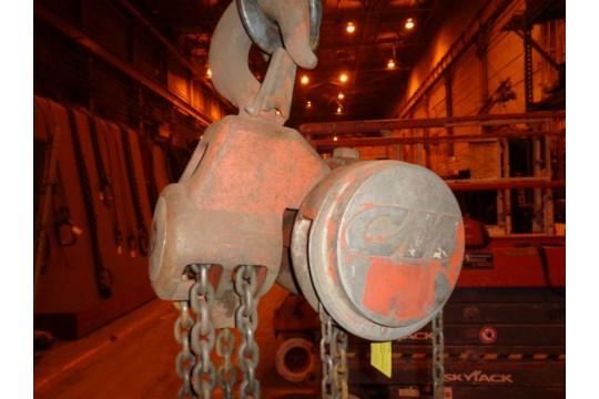 10 Ton CM Chain Hoist (#451) - Image 13 of 13
